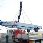geremde hydraulische botenkar