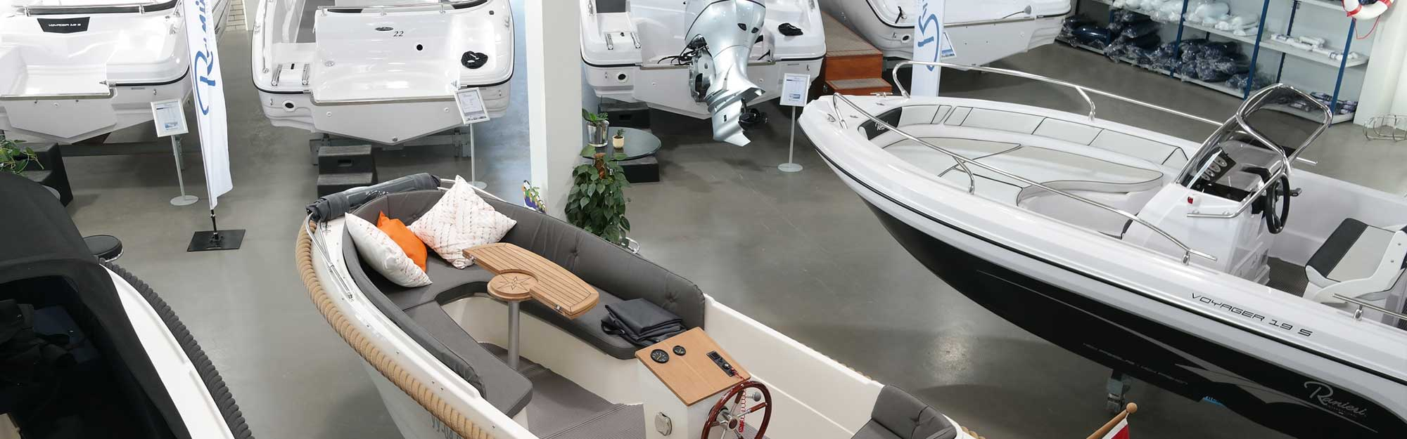 Showroom Slikkendam Watersport